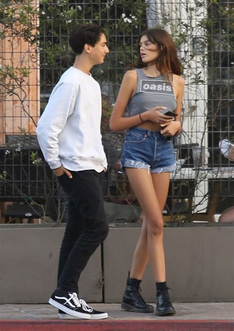 Kaia Gerber in Jeans Shorts -16 | GotCeleb