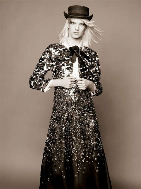 Ashleigh Good for Chanel 2014 Pre-Fall by Karl Lagerfeld