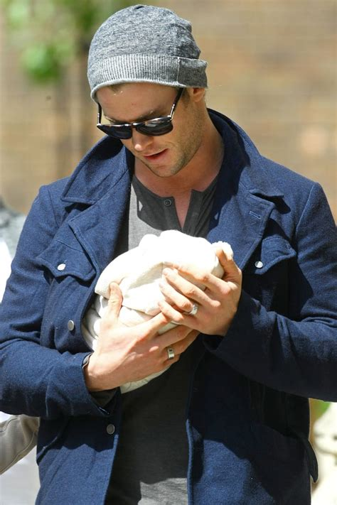 Chris Hemsworth became a dad to daughter India Rose, who