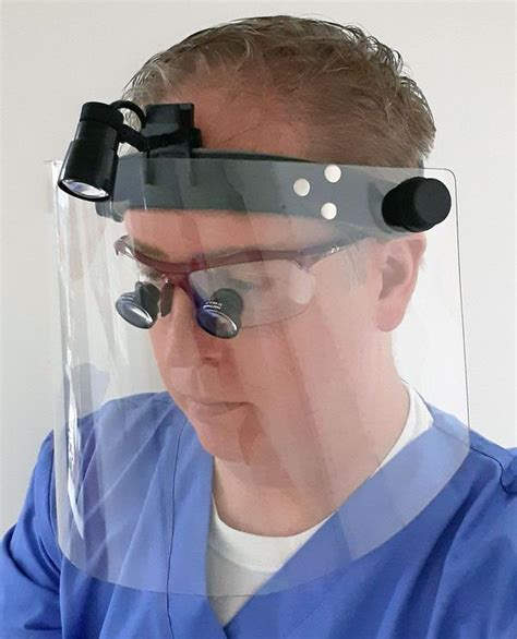 SV Face-Shield System for Surgical & Dental Loupes